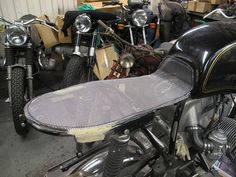 The secret to making an easy seat pan. - By the great chaps at Untitled Motorcycles