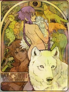 Wolfs Rain official art
