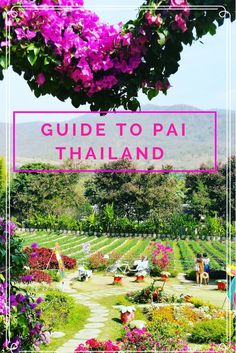 Fun Filled Guide to Pai Thailand. The charming & magical city 3 hours north of Chiang Mai is certainly not one to miss! Guide has fun ideas and quirky locations.