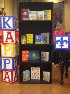 Check out the amazing philanthropy display from the Epsilon Eta Chapter! #KKG #KKG1870