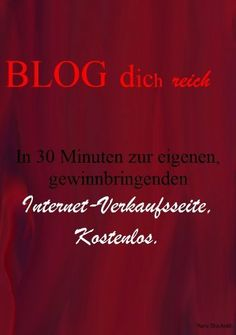 Blog dich reich (German Edition) by Hans Stückrath-Co. $9.98. 27 pages