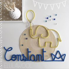 Plein de bisous au petit constant ❤️ merci ma belle @miss_alice14 pour ta confiance et ta fidélité #tricotin #cadeau #gift #naissance #baby #babyboy #elephant #boat #balloon #home #decoration #decorating #instadeco #babyroom #handmade #faitmain #madeinfrance
