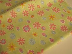 Multicolor-Flowers-Fabric-Remnant-Doll-Clothes-Fabric-Bows-DIY-Craft-Sewing