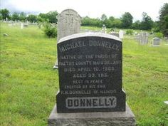 Michael Donnelly, 1830-1863