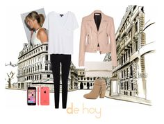 """""""Mi Outfits de hoy"""" by xio1 on Polyvore Polyvore, Shoe Bag, Coat, Jackets, Stuff To Buy, Outfits, Shopping, Collection, Design"""