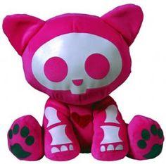 Skelanimals 'Love Struck Kit Cat' 23cm Plush