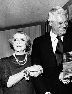 Bette Davis Cary Grant, 1970s. - This is at the Straw Hat awards given to actors who participated is stock theatre. I have Jimmy Stewart's award from his estate auction. One of my most treasured possessions that I look at many times a day.
