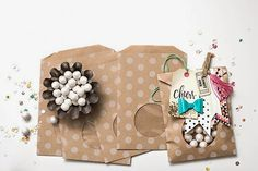 All Scrapbook Steals - The Blog: Maggie Holmes Open Book and Confetti