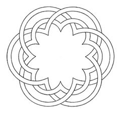 islamic line drawings Islamic Patterns, Celtic Patterns, Geometric Drawing, Geometric Shapes, Circle Pattern, Pattern Art, Celtic Knot Designs, Art Ancien, Geometric Designs