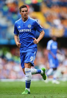 ~ Fernando Torres of Chelsea FC against Hull City Tigers ~