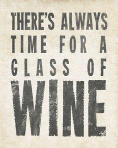 Lover...Glass of wine always