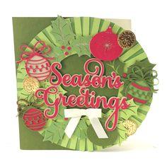 Anna Griffin Christmas Kitsch Cricut image set -- Season's Greetings