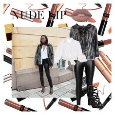 """Geen titel #106"" by ambersied1 ❤ liked on Polyvore featuring beauty, Zizzi, Diane Von Furstenberg and Johanna Ortiz"