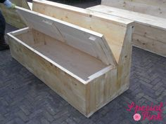 Картинки по запросу tuinbank steigerhout maken
