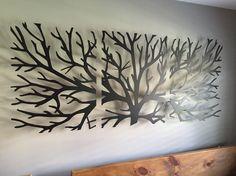 Wall art headboard