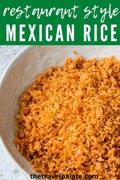 Mexican Beans And Rice, Homemade Mexican Rice, Mexican Rice Recipes, Easy Rice Recipes, Side Dish Recipes, Easy Healthy Recipes, Rice Cooker Mexican Rice Recipe, Easy Mexican Rice, Light Recipes