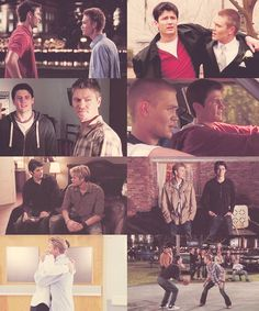 Lucas Scott & Nathan Scott ... this made me want to start watching the series over again :)