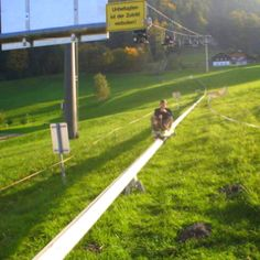 This would be so much fun! sommerrodelbahn in meiders, Austria