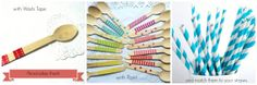 Set of 10 wooden cutlery  Eco friendly  Choose by MadAboutPink, €3.50