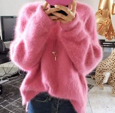 Winter Womens Loose Pullover Cardigan Casual Korean Fashion Fur Warm Sweater New Korean Fashion Trends, Korean Street Fashion, Korea Fashion, Fashion Ideas, Fashion 2016, Womens Fashion, Casual Skirt Outfits, Winter Outfits Women, Winter Dresses