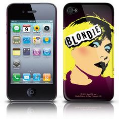 Blondie iphone cover