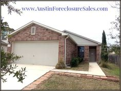 Foreclosure NE Austin HUD Acquired Home Built in 2011