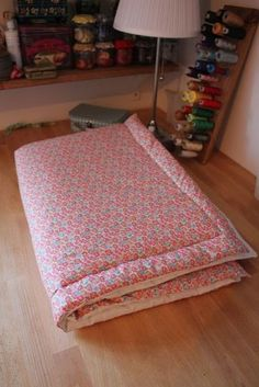 Un tuto simple et rapide pour coudre une couverture molletonnée
