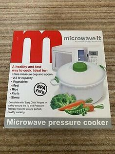 Microwave Pressure Cooker Turbo Steamer Pot Kitchen for Meat Rice Pasta Vegetable for sale online Pressure Cookers For Sale, Microwave Pressure Cooker, Rice Cooker Steamer, Rice Pasta, Vegetable Pasta, How To Cook Rice, Cooking Time, Sunday, Meat