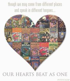 Though we may come from different places and speak in different tongues, our hearts beat as one.