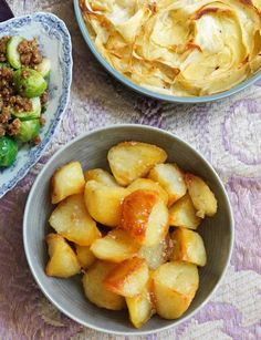 Marcus Wareing's crunchy roast potato recipe uses beef dripping for a golden coating with a deep meaty flavour.