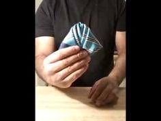 Rose pocket square! - YouTube