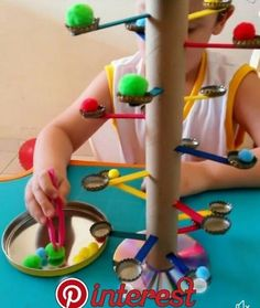 # fine motor home activities DIY game - fine motor practice Motor Skills Activities, Toddler Learning Activities, Montessori Activities, Infant Activities, Fun Activities, Creative Activities For Kids, Fun Games For Kids, Diy For Kids, Fine Motor Activities For Kids
