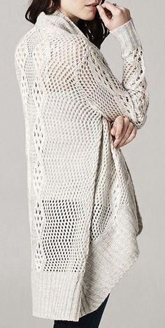 Laurel Crochet Sweater in London