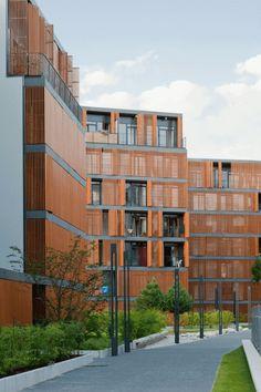 Wilanowska Housing Complex by JEMS Architekci | Apartment blocks
