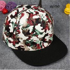Cool camouflage snapback cap for teens leather hip hop baseball caps 42a0a4392af5