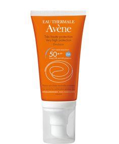 Avene Emulsion Spf 50+ Πολύ υψηλή προστασία του Ευαίσθητου Κανονικού και Μεικτού Δέρματος του Προσώπου 50ml1