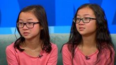 Identical 10-year-old twins Audrey Doering, from Wisconsin and Gracie Rainsberry from Washington state, were in tears as they embraced for the first time this morning, after being separated since shortly after birth. Audrey told ABC News that she had asked her parents for a sister for Christmas this year.