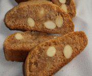 Biscottis au miel et aux amandes