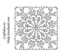 Resultado de imagem para square de croche