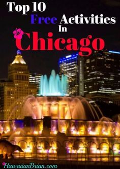 Being the third largest city in America, Chicago can be expensive. Luckily for visitors, there are plenty of free activities to do in the Windy City: from river walks to night clubs. Check out the top ten picks below! Grant Park, chicago things to do in, Top free attractions in Chicago, Lake Shore Trail, Humboldt Park