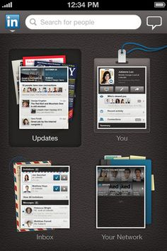 With LinkedIn, you can  • Find and connect with more than 175 million members worldwide.  • Stay up-to-date with people in your network.  • Sync your calendar to get LinkedIn profile information about the people you're meeting with.*  • View and save recommended jobs.**  • Read the latest industry news.   • Keep up-to-date with your groups.  • Share content with your network.  • Follow and learn more about companies.
