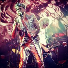 @jadelle1「#qalprague #QAL #adamlambert #brianmay #show #concert #Prague #czechia #music #voice #legends…」