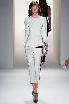Calvin Klein Collection Spring 2013  #JustFab #FashionWeek