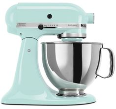 220 Volt KitchenAid Artisan Stand Mixer - Ice Blue