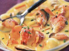 Recette Plat : Cassolette de la mer au safran par Bonpapi