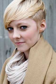 side shaved bob cut - Google Search