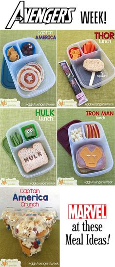 Avengers Week round up by Green Lunches, Green Kids
