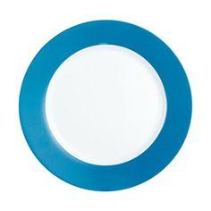 Assiette plate bleue et blanche 26 cm Everarty LUMINARC | La Redoute Mobile