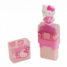 Hello Kitty Eraser - Pink Mosaic Pink Plastic feaf0af7d0a17