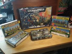 Warhammer Lot of Space Miniatures Parts Opened Boxed Sealed Unopened Box Game Cards, Card Games, Warhammer 40000, Toy Boxes, Pinball, Vintage Toys, Miniatures, Space, Ebay